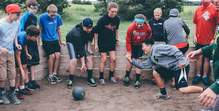 The Tekakwitha Games event includes many fun physical challenges